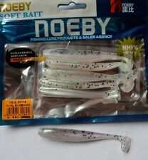 Noeby pêche leurre souple odorant Texan Minnow 10cm 5g couleur 204