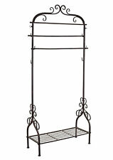 Hall Stand Vintage Wardrobe Clothes Stand Metallgarderobe Garment Rack