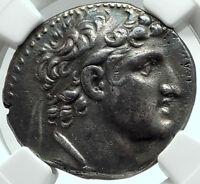 ALEXANDER I BALAS - Seleukid Ancient Silver Greek TETRADRACHM Coin NGC i66181