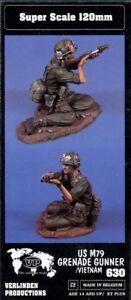 Verlinden 1:16 120mm US M79 Grenade Launcher in Vietnam Resin Figure Kit #630