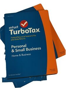 Lot 10 Pieces TurboTax2014 Home and Business Federal+ State + Federal  brand new