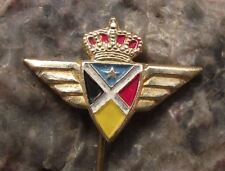 Sabena Belgian National Carrier Airlines Wings Crown Aviation Airliner Pin Badge