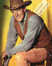 James Arness Private Collection Gunsmoke  8 x 10 Color Photo