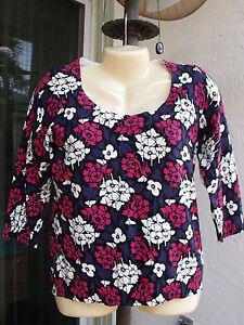 $59.50 Talbots Floral Sweater/Cardigan SP elegant NEW