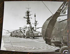 AVIATION, PHOTO HELICOPTERE PORTE AVIONS