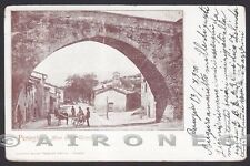 PERUGIA CITTÀ 72 Cartolina viaggiata 1900