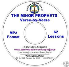 ALL 12 MINOR PROPHETS Verse by Verse MP3 CD 38+ HOURS