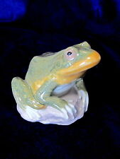 Lladro #6702 Nature'S Observer Brand New In Box Green Frog Toad Spring Rare F/Sh