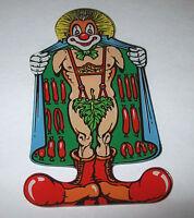 CYCLONE Pinball Machine Original 1988 NOS Plastic Promo Clown Flasher WILLIAMS