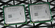 Pair 2x AMD Opteron 2356 CPU Processor 2.3GHz Quad-Core Socket F+ OSA2356WAL4BGH
