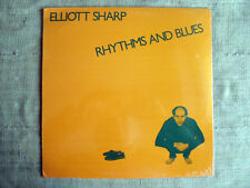 Elliott Sharp – Rhythms And Blues  –- LP  33 giri  SIGILLATO / SEALED