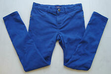 The Children's Place Girls 10 Blue Leggings With Adjustable Waist NICE GUC!
