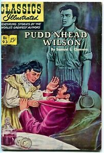 Classic Illustrated Comics #93, Pudd'nhead Wilson - $0.15 - HRN94 - Fine