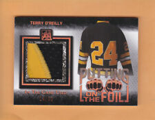2017 ITG USED TERRY OREILLY SP 30 PUTTING ON THE FOIL #PF-08 BOSTON BRUINS