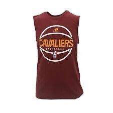Cleveland Cavaliers NBA Adidas Niños Jóvenes tamaño Athletic Camiseta sin mangas Camiseta Nueva Etiquetas