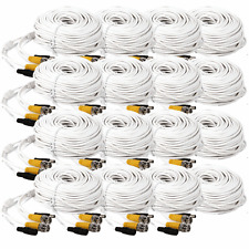 16x 100ft Security Camera BNC Video Power Cable DVR CCTV Surveillance Wire Cord