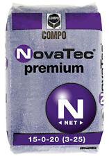 Concime Tappeti erbosi - Prati - NovaTec® Premium 15-0-20+3+25 da Kg 25 Compo