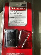 NEW Craftsman 57938 3-Button Remote Control Garage Door Opener Series 100 Models