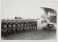 Apell in einem Fliegerhorst. Orig-Pressephoto, um 1939