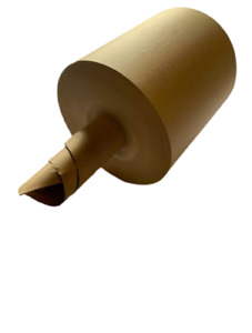Void fill packaging paper. infill coreless 600m X 300mm 80gsm. 100% recycled FSC