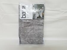 BAR III - Diamond Pleat Grey and White Euro Pillowsham