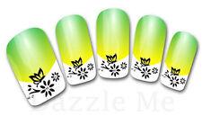 3D Nail Art Sticker Decals Transfer Stickers French Tip Design Flower (3D827)