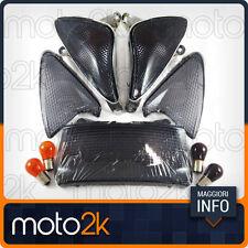 KIT FRECCE NERE COMPLETO PER YAMAHA TMAX T-MAX 500 2001 - 2007 - COD 77206373H