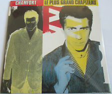 "ALAIN CHAMFORT - CD SINGLE ""LE PLUS GRAND CHAPITEAU"" - NEUF SOUS BLISTER"
