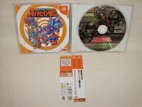 Dreamcast SUPER HERO RETSUDEN with SPINE CARD * Tokusatsu Katsugeki Sega JP dc