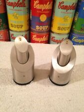 WMF Two-in-One Stainless Steel Salt and Pepper Cylinder set (2 sets available)