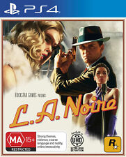 LA Noire Sony PS4 Playstation 4 aus game