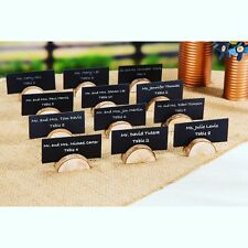 24 pack of rustic wood place card holders wedding decorations  PRIORITY SHIPPING