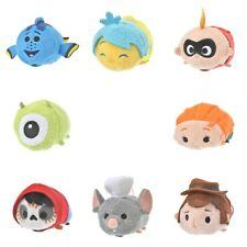 Pre-Order Disney Store JAPAN TSUM TSUM Pixar 8 Pieces Completed Set Reversible