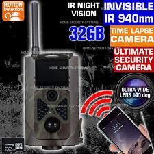 Trail Camera Wireless GSM MMS Security Alarm Cam Home Farm No Spy Hidden