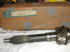 Rare NOS Mercedes-Benz#1102600620 Manual Transmission Imput Shaft W110 190c,200D