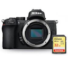 Nikon Z50 Mirrorless Digital Camera (Body Only) 1634 + Sandisk Extreme 32GB SD