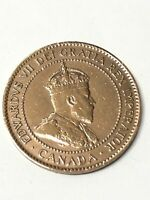 Edward VII 1907 Canadian One Cent Coin Canada