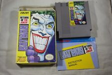 Batman Return Of Joker (Nintendo NES) Complete in Box FAIR