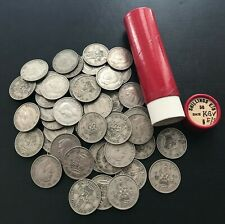 More details for 50x king george vi shillings english & scottish in a historical banking tube