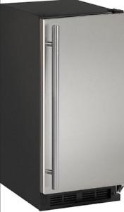 "U-Line UBI1215S00B 1000 Series 14.9"" 25 lb Freestanding Icemaker *Cosmetic Ding*"