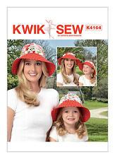 Kwik Sew K4164 PATTERN - Misses/Girls Visor & Detachable Crown XS - L