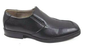 Men's Merona Black Square Toe, Slip-On Dress/Loafer US 8 M