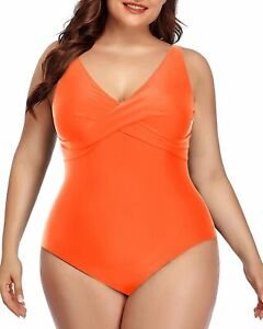 Yonique Womens Plus Size One Piece Swimsuits