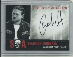 """2015 Sons of Anarchy: Seasons 6 & 7 CHARLIE HUNNAM """"Autograph Card"""" #CH as Jak"""