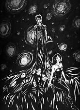 The Sandman Dream and Death limited fanart print 8x10