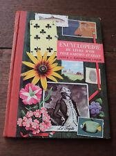 1960 Enfantina Livre enfant Encyclopédie livre d'Or 6 Electronique Science