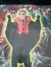 Vestito VampiroCostume Completo Cosplay Carnevale  Bambino Halloween Dracula