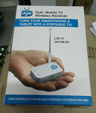 Dyle Mobile TV Wireless Receiver, Live-TV ON-THE-GO - NEW in Box!