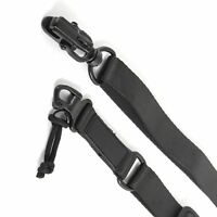 2 Point Rifle Sling (Black) Multi Mission Quick Release Tactical Strap