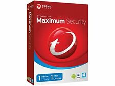 Trend Micro Maximum Security 2019 v12 1 Year 1PC (Activation Key)